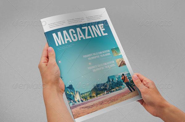 Modern & Clean Minimal Magazine Templates