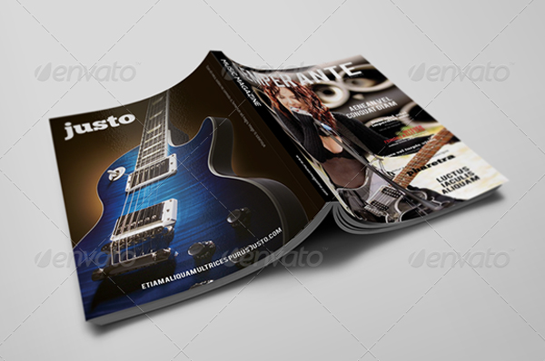 Music Magazine Template