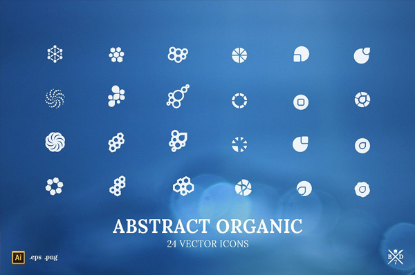 Organic Abstract Icons