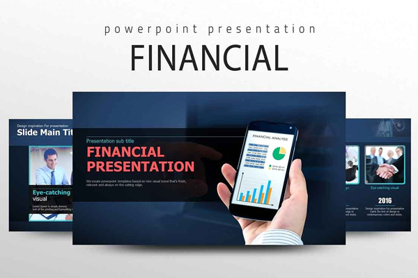 Outstanding Financial PowerPoint Presentation Template