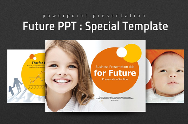 Outstanding Future PowerPoint Presentation Template