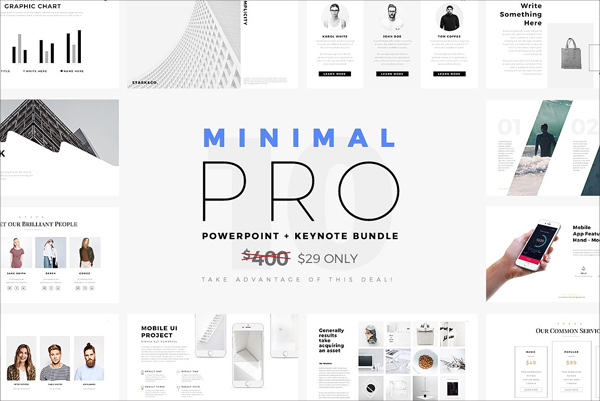 Outstanding Minimal Pro Presentations Bundle