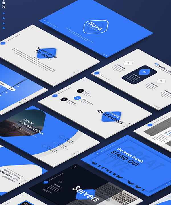 Nova Outstanding PowerPoint Presentation Template