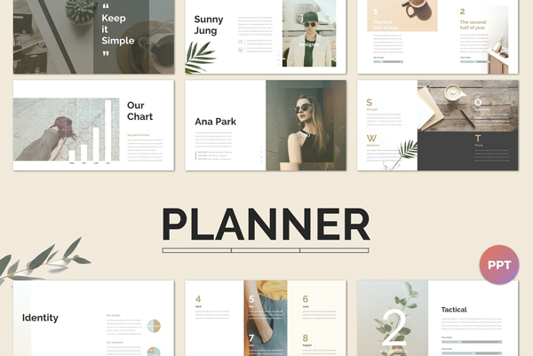 Outstanding Planner PowerPoint Presentation Template