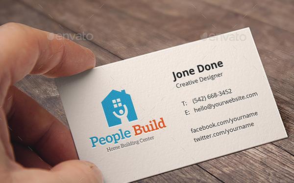 People Build Logo Design