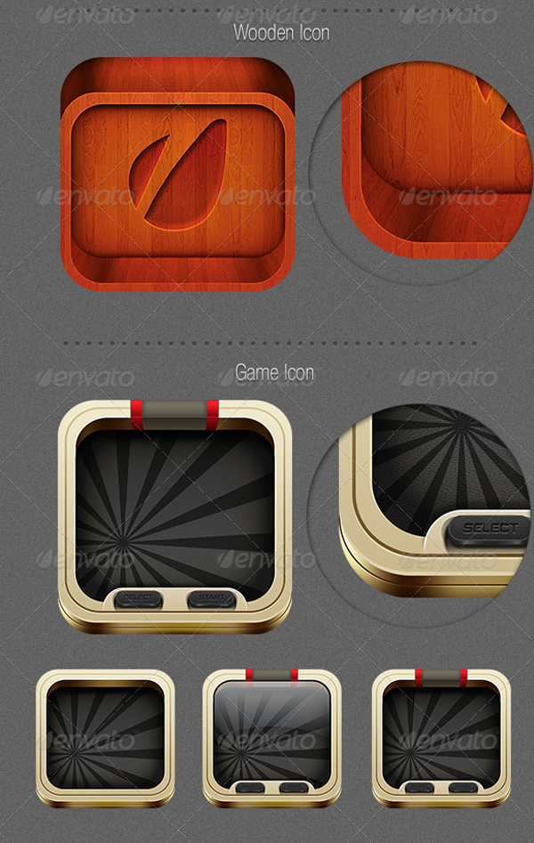 Retina Ready Android Icons