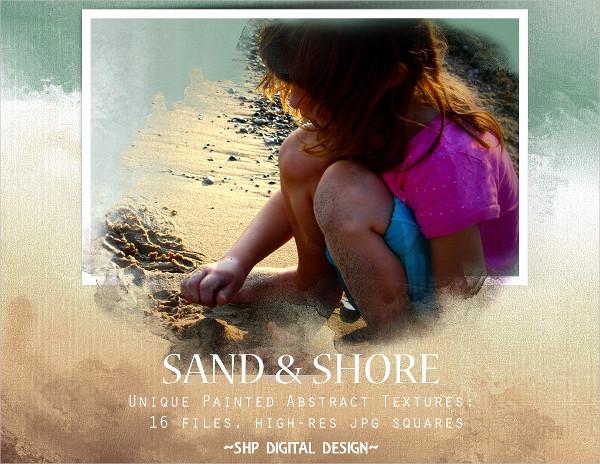 Abstract Beach Sand Texture