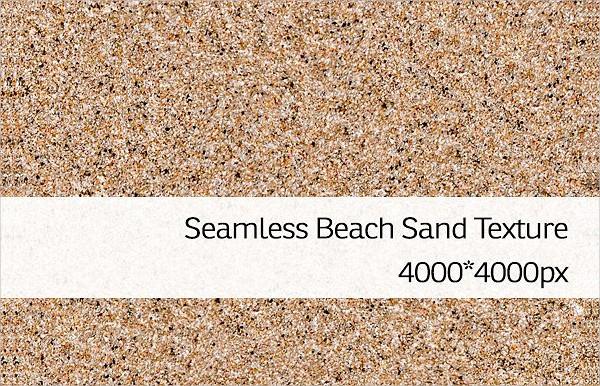 Seamless Beach Sand Texture