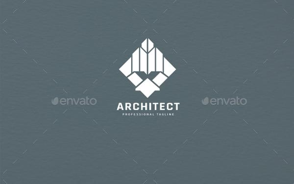 Simple Architect Logo Template