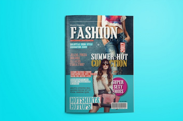 Simple Fashion Magazine Template