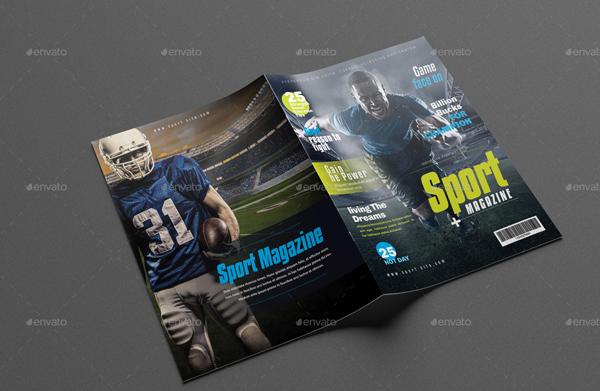 Sport Magazine Design