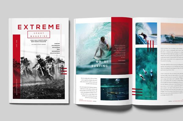 Sports Minimal Magazine
