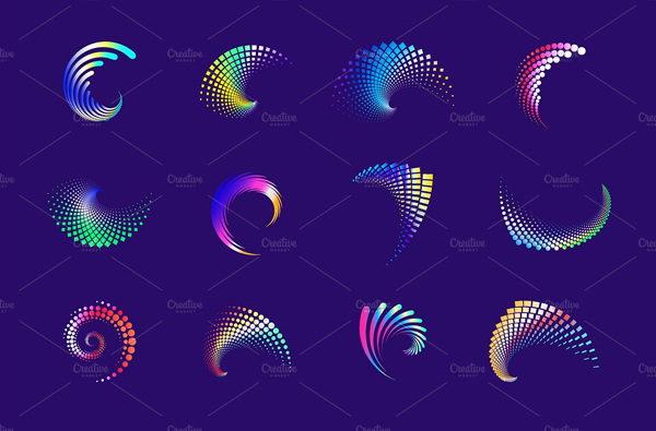 Swirl Abstract Icons