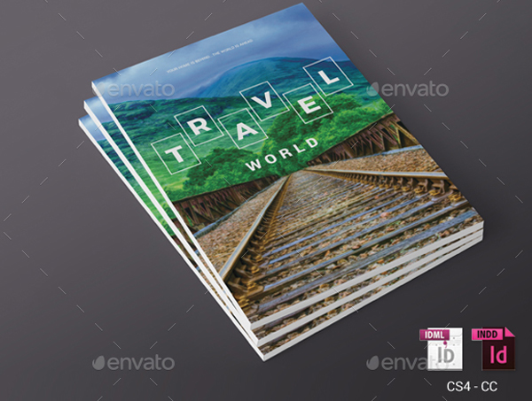 Travel Magazine Templates