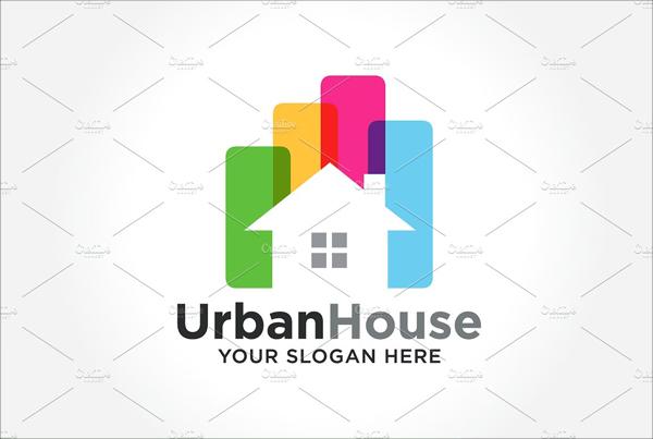 Urban House Logo Design