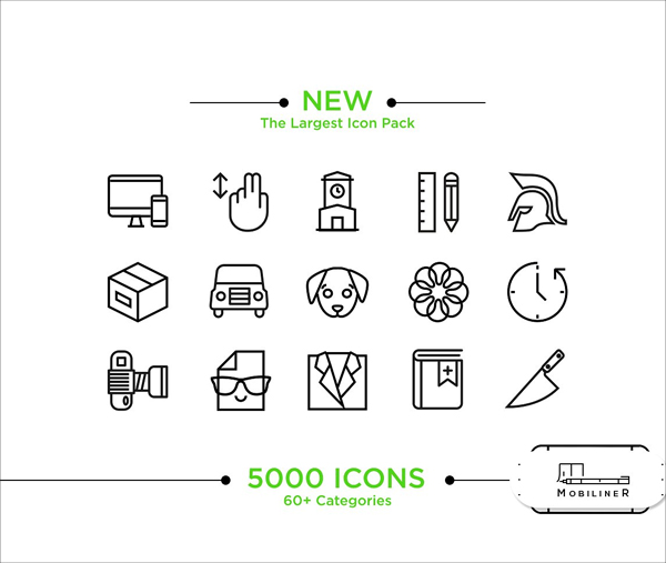 iOS and Android Icons Pack