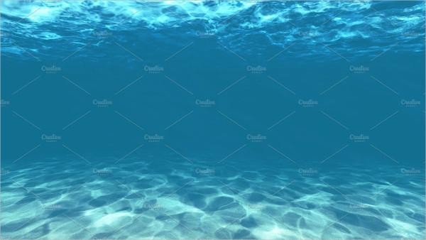 Underwater with Sand Texture