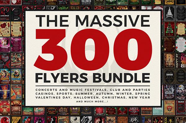 Best Printable Design Bundle Flyers