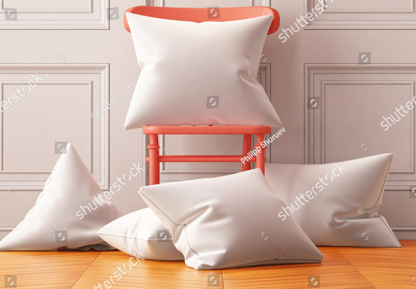 Amazing Pillow Mockup Design