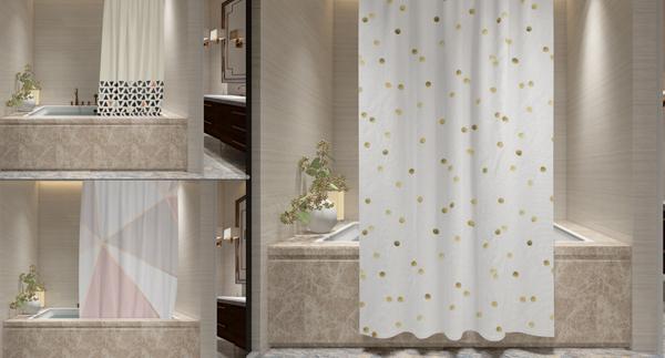 Bath Curtain Mockups