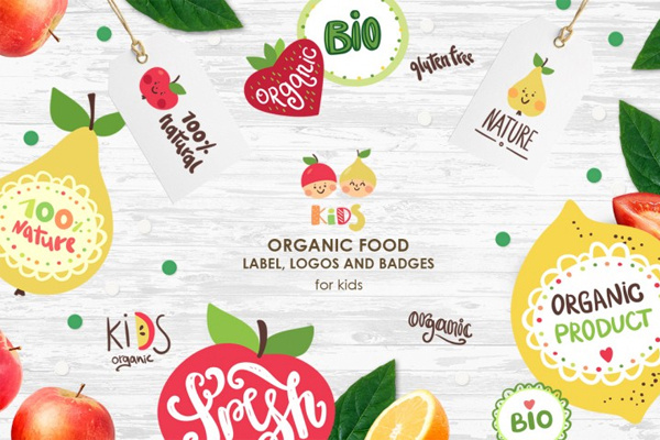 Best Organic Food Logo Design Templates