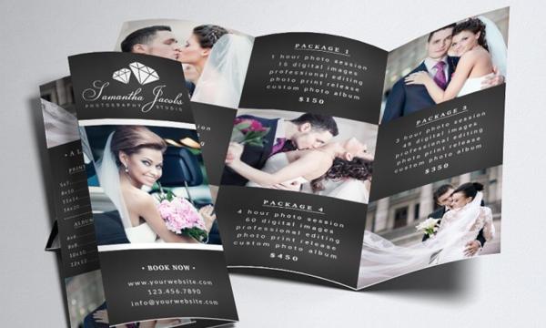 Best Photography Trifold Brochure Template