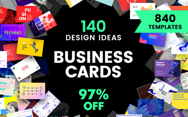 Business Card Design Templates Bundle