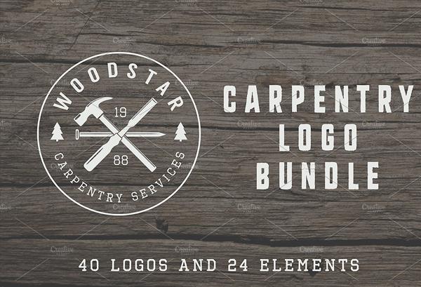 Carpentry Retro Logos