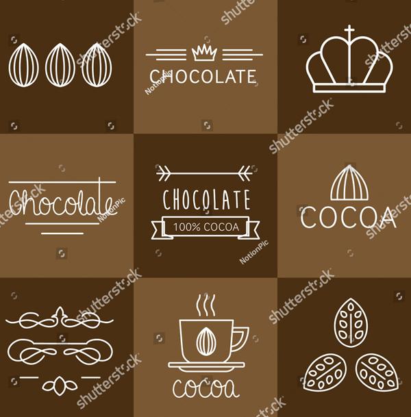 Chocolate Food-Drink Logo Templates