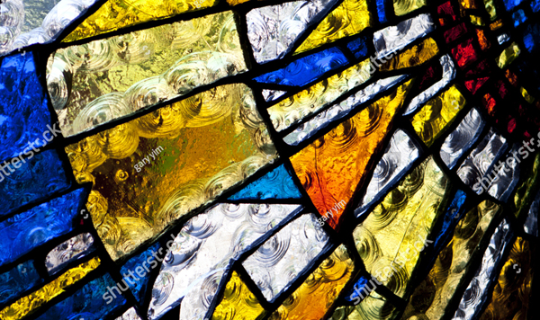 Church Window Stained Glass Texture