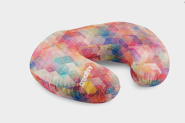 Colorful Boppy Pillow Mockup Set