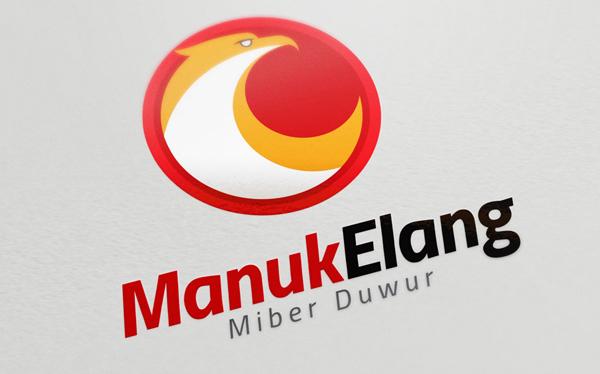 Colorful Eagle Logo Template