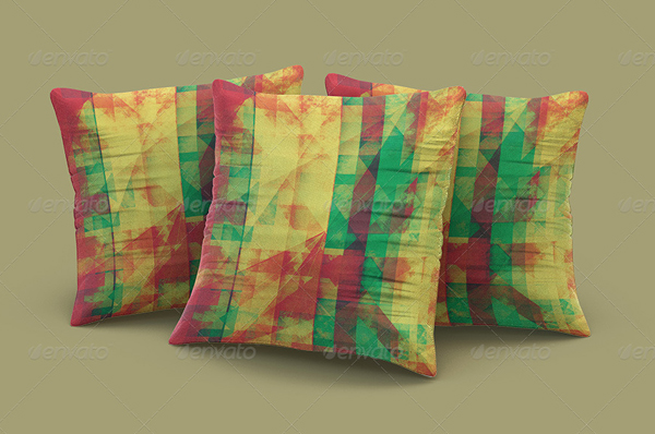 Colorful Pillow Mockup