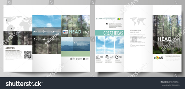 Colorful Travel Brochure Template