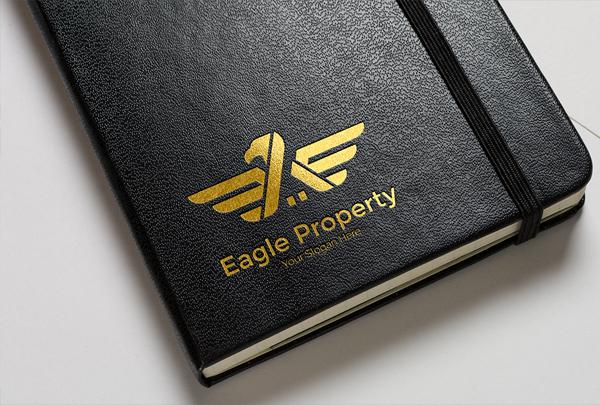 Construction Eagle Logo Design