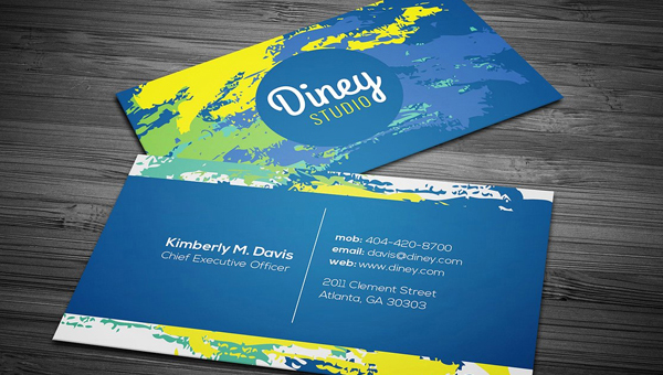 26 Cool Business Card Designs Free Premium Downloads