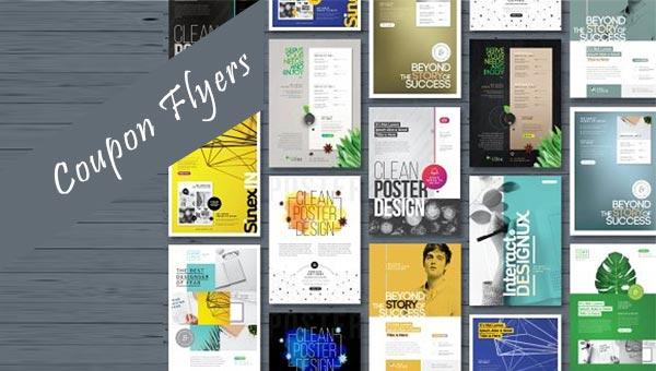 36 Coupon Flyer Design Templates Free Premium Psd Downloads
