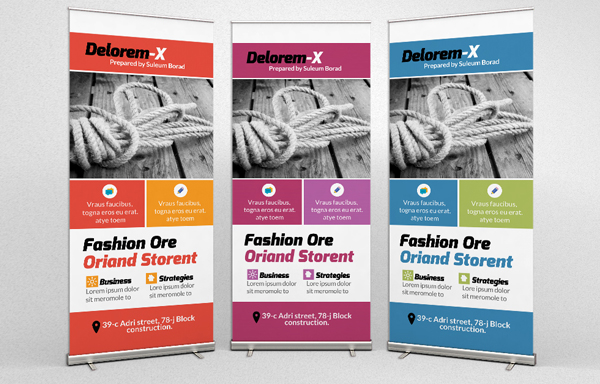 Creative Pro Business Roll Up Banners