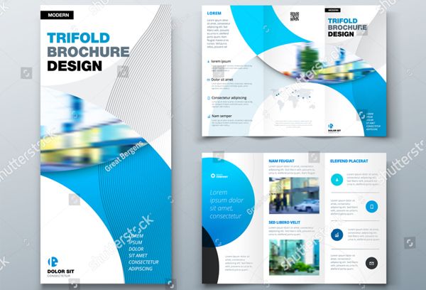 Creative Travel Trifold Brochure