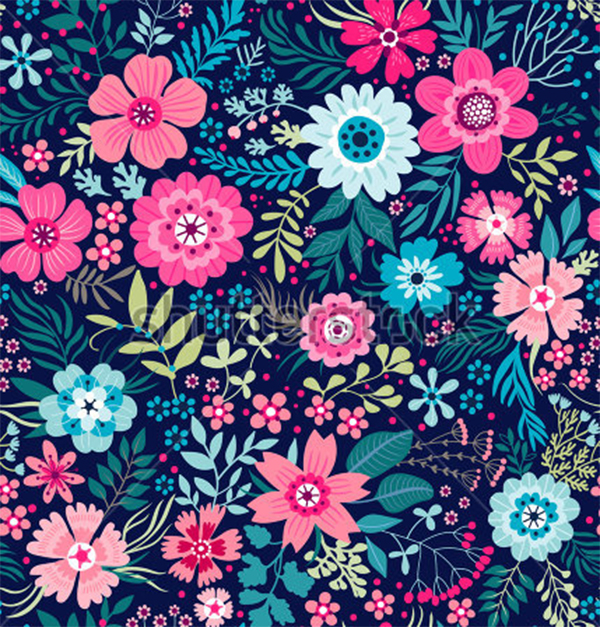 Cute Small Flower Pattern Design