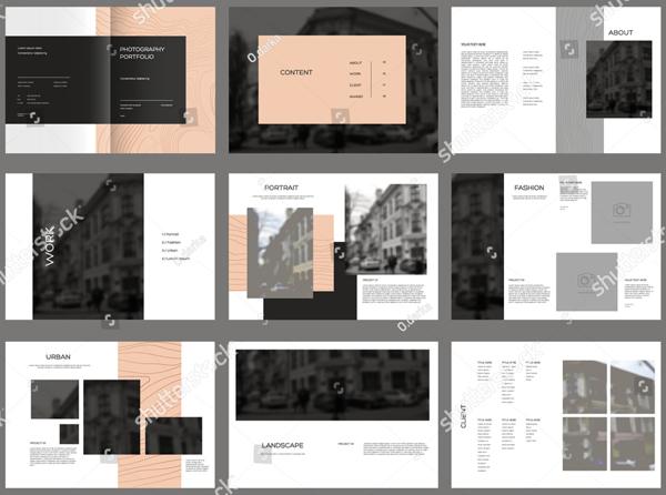 Design Photography Brochure Template