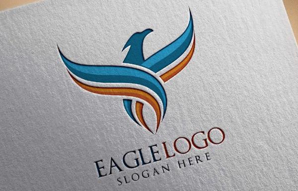Eagle Fly Logo Design