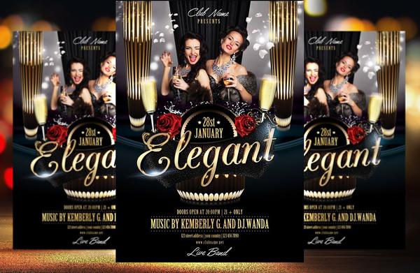 Elegant Party Flyer Template