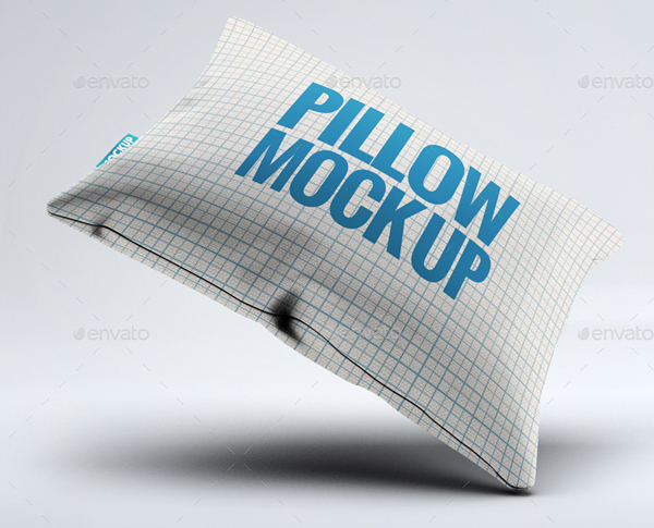Fabric Pillow Mockup Template