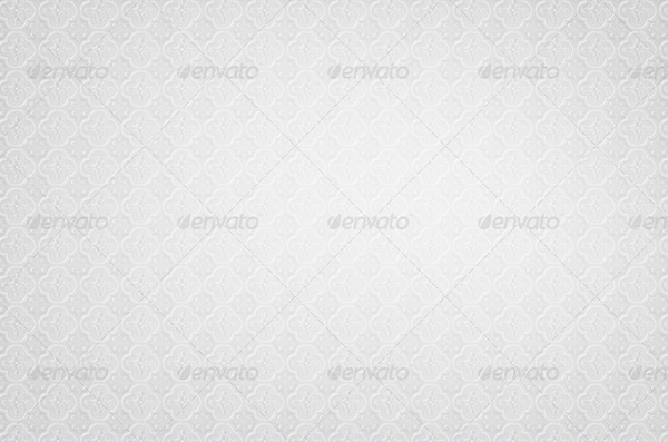 Floral White Background Design