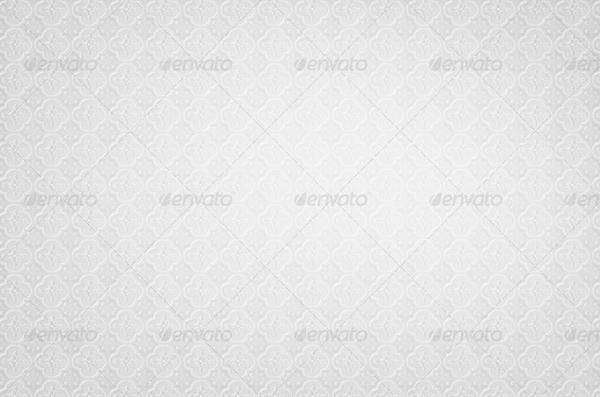 Floral White Background Design