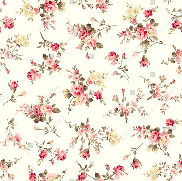 Flower illustration Pattern Design
