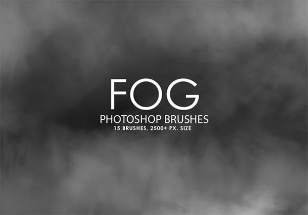 Fog Free Photoshop Brushes