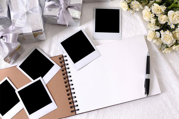 Free Blank Notebook WeddingElements