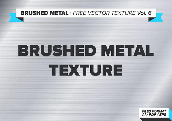Free Vector Brushed Metal Texture